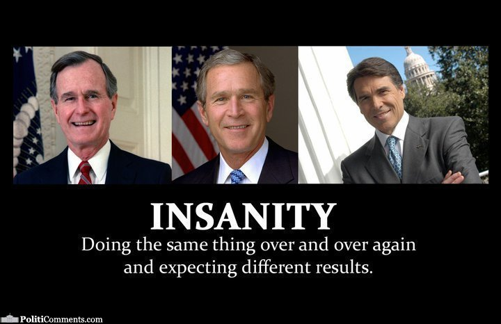 blogs slog definition insanity republicans