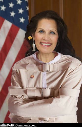 Straight Jacket Bachmann @ PolitiComments.com